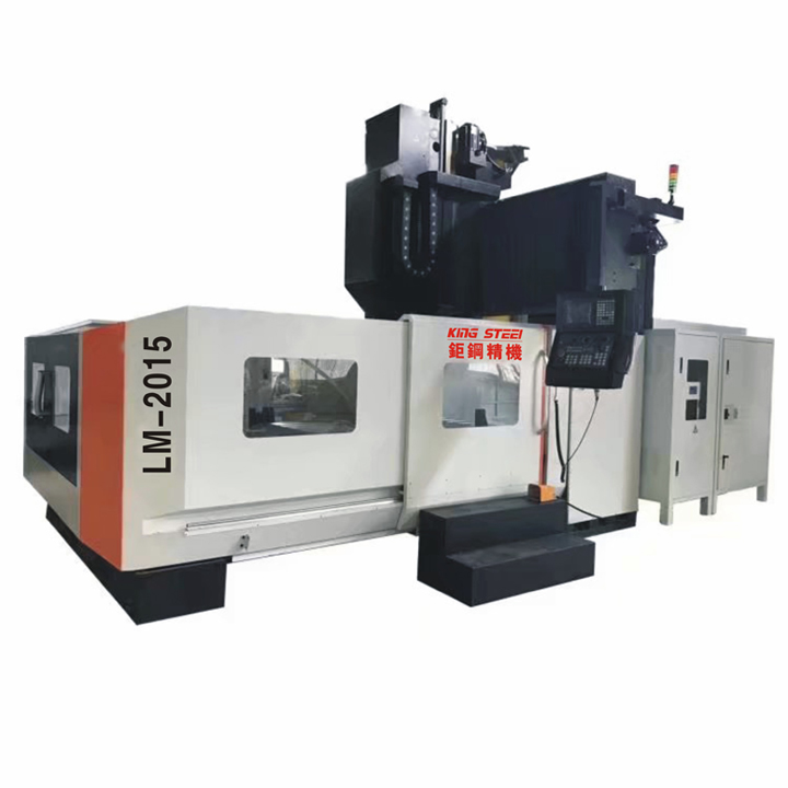 LM2015 CNC Gantry Milling Machine Machining Center with Fanuc Controller