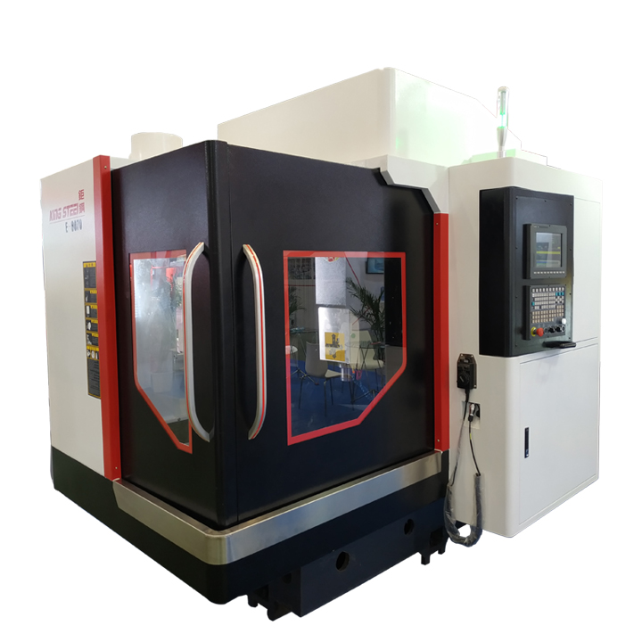 E-8070 CNC Machining Center 3 Axis 4 Axis Vertical Machining Centers